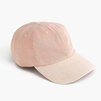J.Crew Garment-dyed ball cap