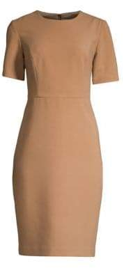 Trina Turk Diamante Cap Sleeve Sheath Dress