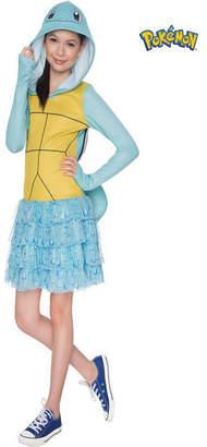 BuySeasons Pokemon Girls Squirtle Hooded Costume