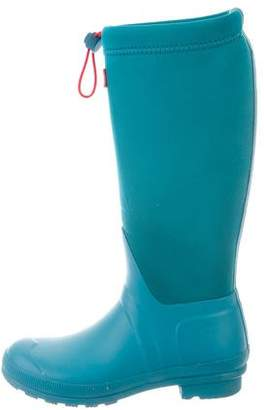 Hunter Round-Toe Neoprene Rain Boots