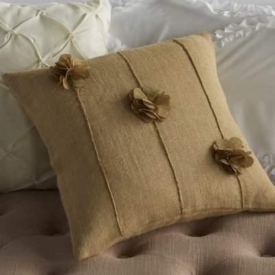 Wayfair Yingst Burlap Throw Pillow