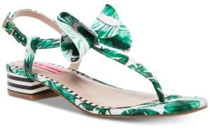 Betsey Johnson Austen Flat Sandals Women's Shoes