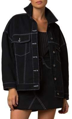 Tiger Mist Kenny Oversized Denim Jacket