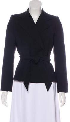 Dolce & Gabbana Wool Structured Blazer