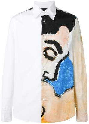 Marni art print shirt
