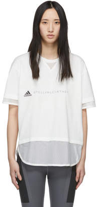 adidas by Stella McCartney White Logo T-Shirt