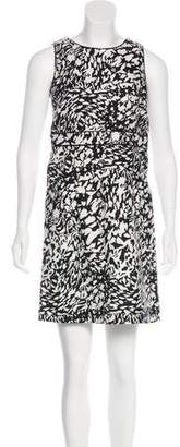 Tory Burch Abstract Print Mini Dress