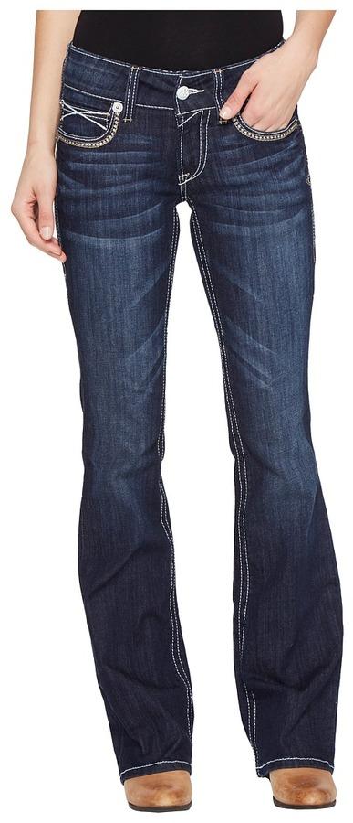AriatAriat - R.E.A.L. Low Rise Boot Julia Women's Jeans