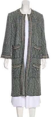 Chanel Bouclé Knit Coat