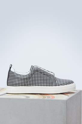 Pierre Hardy Leather slip-ons