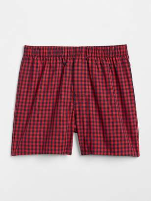 "Gap 4.5"" Plaid Boxers"
