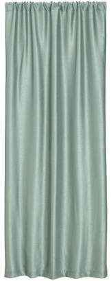 H&M Textured-weave Curtain Panel - Green
