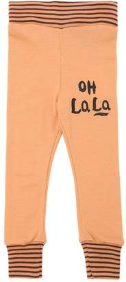 Mini Rodini Oh Lala Knitted Leggings
