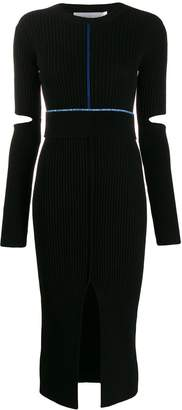 Victoria Beckham long-sleeve fitted dress
