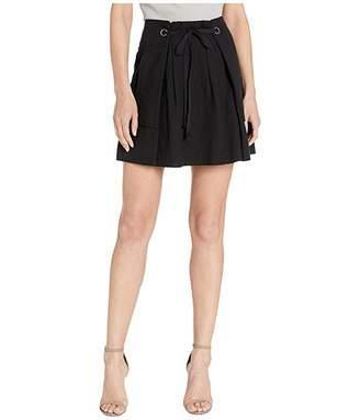 BCBGMAXAZRIA Drawstring Skirt