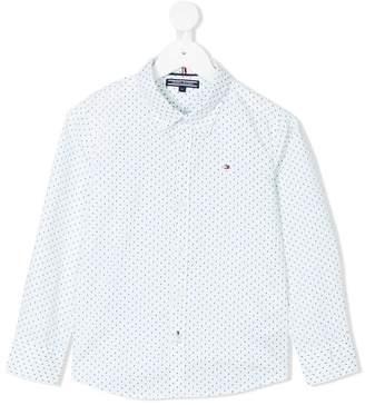 Tommy Hilfiger Junior tiny tree print shirt