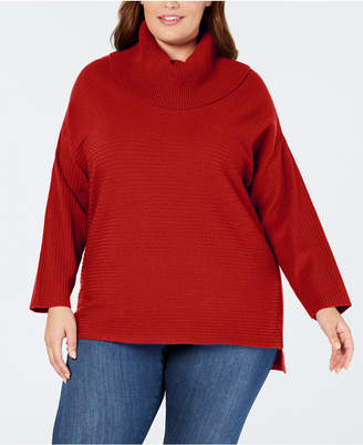 Style&Co. Style & Co Plus Size Cowl-Neck Sweater