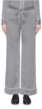 EquipmentEquipment x Kate Moss 'Avery' star print silk pyjama pants