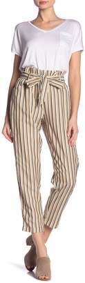 Dress Forum Striped Crop Pants
