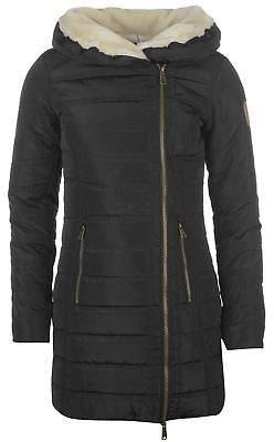 Gelert Womens Storm Parka Down Jacket Coat Top Lightweight Zip Insulated Warm