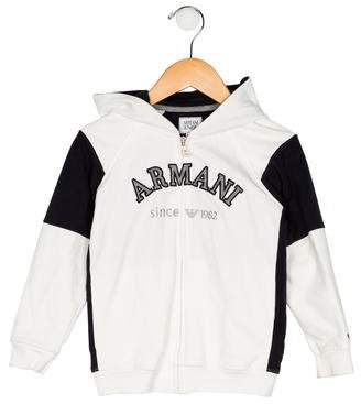 Armani Junior Boys' Zip-Up Jacket