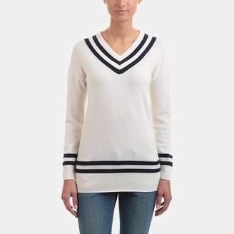 Frame Varsity V-Neck Sweater