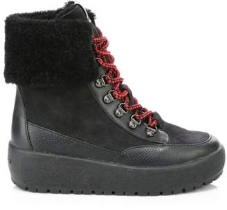 Coach Tyler Foldover Shearling Boots