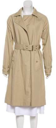 Frame Atelier Notched-Lapel Trench Coat