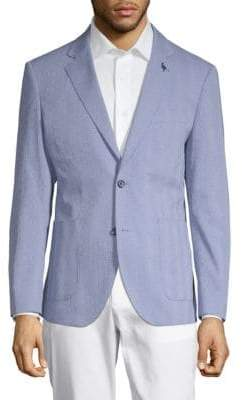 509dd4e00db Cotton Seersucker Blazers Men - ShopStyle