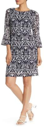 Ronni Nicole Bell Sleeve Lace Dress