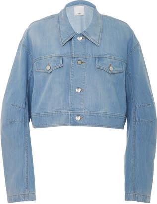 Tibi Cropped Jean Jacket
