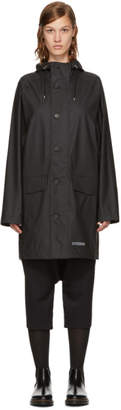 Stutterheim Black Ekeby Raincoat