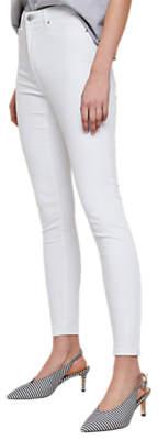 Miss Selfridge Lizzie Skinny Jeans, White
