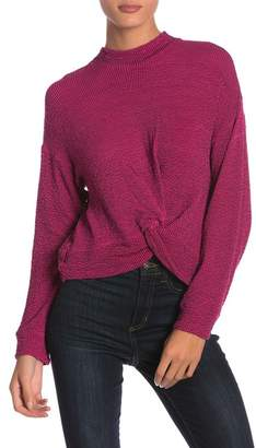 June & Hudson Twist Knot Sweater