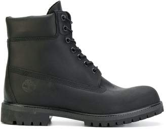 Timberland lace-up combat boots
