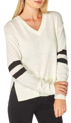 Dorothy Perkins V-Neck Striped Sweater