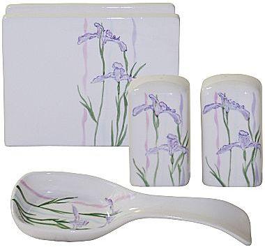 Corelle 4-pc. Shadow Iris Kitchen Set