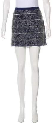 Gryphon Beaded Mini Skirt