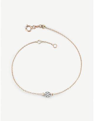 Rosegold The Alkemistry Kismet by Milka 14ct rose-gold and diamond Sagitarius bracelet