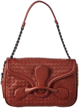 Bottega Veneta Rialto Intrecciato Nappa Leather Shoulder Bag