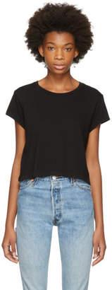 RE/DONE Black 1950s Boxy T-Shirt