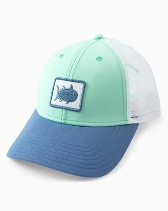 Southern Tide Women s Skipjack Patch Trucker Hat 1215fefe1add