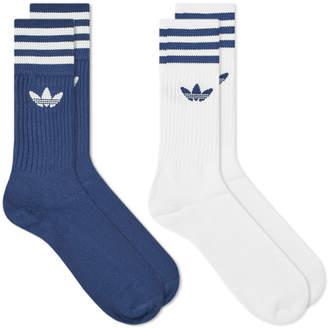 d1cb47c83 adidas Blue Men's Socks - ShopStyle
