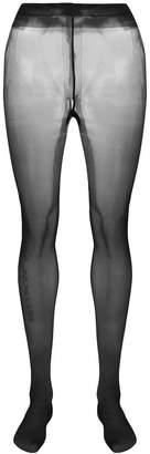 Alexander Wang sheer logo tights