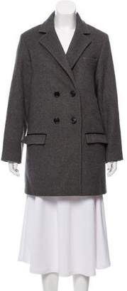 Isabel Marant Short Double-Breasted Coat
