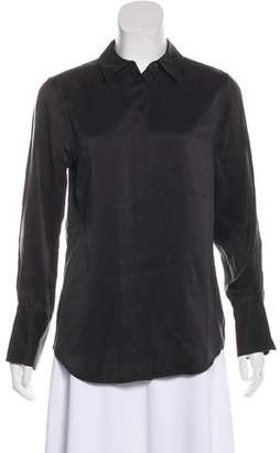 Kate Moss x Equipment Button-Up Silk Top