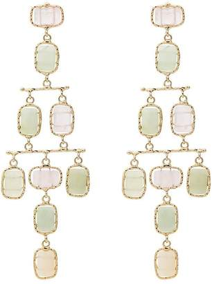 Rosantica tiered multi stone earrings