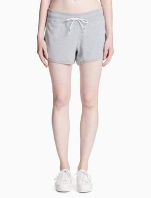 Calvin Klein logo mesh track shorts