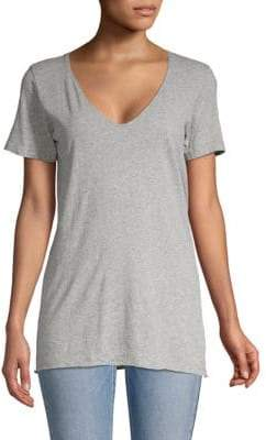 Bassike Organic Cotton V-Neck Tee