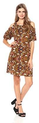 Wild Meadow Women's Bora Print Boho Dress L